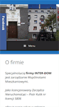 Mobile Preview of inter-dom.net.pl